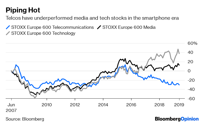 "(Bloomberg Opinion) -- 5G networks will allow vast gobs of data to be transmitted at great speeds. And more data usually means more money for mobile carriers like Deutsche Telekom AG and AT&T Inc. But there's a hitch. Cloud giants such as Amazon.com Inc., Alphabet Inc. and Microsoft Corp. are lurking.The new tech enables ever more computational decision-making to be carried out by powerful processors sitting in the cloud. But when even a few milliseconds of lag can be a problem – as might be the case with high-frequency trading or connected factories – it's worth trying to slash the time it takes to reach a cloud server.That's why the cloud giants are pushing what's known as edge computing: where cloud functions run on servers that are physically closer to the end user, thereby cutting the distance to a computer making a given decision. They're at the ""edge"" of the network. It's a feature of the distributed cloud, where different functions are distributed across different parts of a network.For telecoms firms that could be a problem. They're terrified of spending hundreds of billions of dollars on upgrading their networks, only to become the providers of dumb pipes exploited by technology behemoths, and miss the most profitable opportunities the investments could generate. They don't want a repeat of WhatsApp, whose free messaging platform gobbled up carriers' SMS revenues.The main cloud providers – Amazon Web Services, Microsoft Azure, Google Cloud and Alibaba Group Holding Ltd.  – have a headstart when it comes to exploiting these opportunities. They have huge customer bases and developer ecosystems, in addition to their existing hordes of servers. In short, they have scale.It would therefore be foolish for a telco to try to build a cloud offering to rival that scale, according to Nick McQuire, head of enterprise research at CCS Insight. They seem to recognize this, and are instead trying to ensure they're the gatekeepers for their customers' relationships with the cloud operators. Unfortunately for the network firms, the lock they have on those relationships can be tenuous.There are different ways carriers can try to control them. Just this month, Spain's Telefonica SA announced it would sell Google Cloud solutions globally. Alone, that's unlikely to generate much profit. But by inserting themselves into the transaction, they hope to be in prime position to offer additional lucrative services that run on a third party's cloud. And when it comes to small- and medium-sized enterprises, network firms' extensive local teams can offer comprehensive solutions. It's less scalable than what the cloud operators do, but it's still an opportunity.Others such as France's Orange SA think that owning the cybersecurity layer is the best way to manage the process. That encryption key ensures they control enterprise customers' cloud access, also making it easier to sell value-added services. Both approaches are a gamble. Cloud providers have their own cybersecurity solutions, for one. Convincing customers that a carrier can do it better might be tough.Increasingly, the operators have little choice. The likes of Amazon and Google are proactive in creating demand for their products. Their customers then turn to their telecom providers and request the cloud giants' services. That all but forces them to play along.Consider Google's new Netflix for games, Stadia. For a subscription fee, starting in November users can access a bevy of titles running on cloud servers rather than their own computers. They'll be able to play on a computer more than twice as powerful as Sony Corp.'s Playstation 4 console using just a cellphone, which becomes little more than a screen and a controller. And since the data is never exposed to the public internet, carriers' importance is diminished.A carrier who can boast about Stadia's performance on its network might use it as a tool to win customers. The best gaming experience will have no perceptible lag, so the closer Stadia's servers are to the user, the better.Amazon and Microsoft's gambits, which are called AWS Outposts and Azure Stack respectively, have similar placement goals. While not yet widely available, they comprise server boxes which sit on customers' premises – factories, oil rigs or offices – and provide a hybrid of local and cloud computing.The race to the edge really does risk turning the network operators into providers of dumb pipes: enterprise customers' data enter the network via AWS Outpost at one end, and travel to and from centralized servers without being exposed to the public internet, remaining on a private network. It raises carriers' risk of disintermediation – that they get all but shut out of the most lucrative parts of the cloud business. Stadia is unlikely to eat the world any time soon, and Google is behind rivals Azure and AWS in many enterprise applications, which is where the real money lies. We're in the very early days of this struggle.But edge computing could turn into something of a Trojan horse for other cloud services. Carriers have a real challenge on their hands.To contact the author of this story: Alex Webb at awebb25@bloomberg.netTo contact the editor responsible for this story: Jennifer Ryan at jryan13@bloomberg.netThis column does not necessarily reflect the opinion of the editorial board or Bloomberg LP and its owners.Alex Webb is a Bloomberg Opinion columnist covering Europe's technology, media and communications industries. He previously covered Apple and other technology companies for Bloomberg News in San Francisco.For more articles like this, please visit us at bloomberg.com/opinion©2019 Bloomberg L.P."