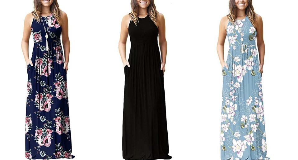 This effortless Amazon maxi dress is perfect for summer — and it comes in so many colours.