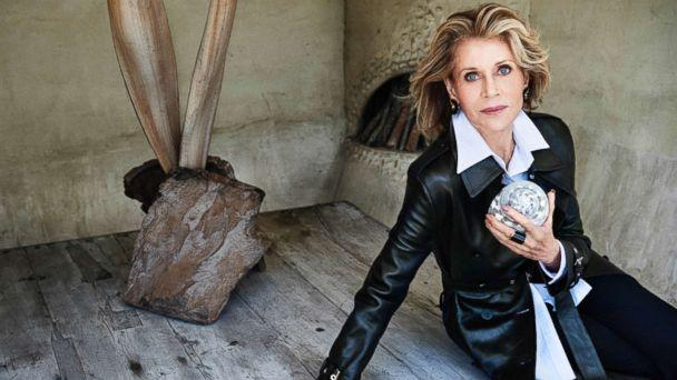 PHOTO: Jane Fonda appears on the November 2017 cover of Town & Country. (Max Vadukul )