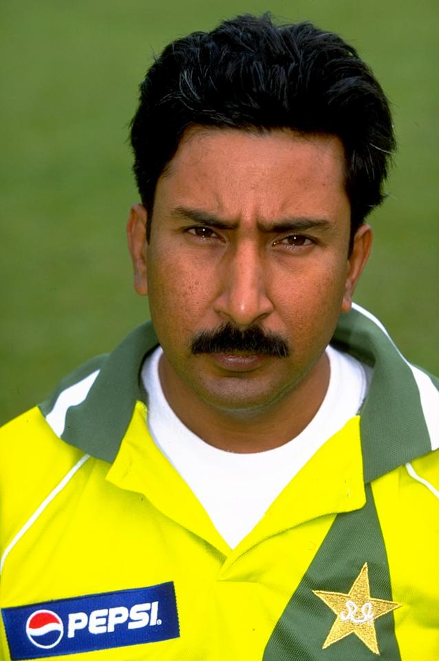 8 May 1999: Portrait of Salim Malik of Pakistan. \ Mandatory Credit: Mark Thompson /Allsport