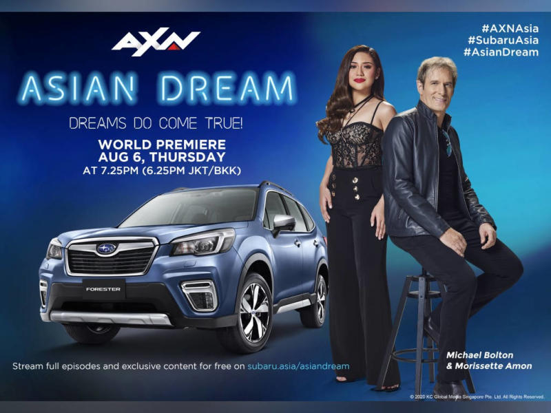 """Join Michael Bolton's search for new talent in """"Asian Dream""""."""