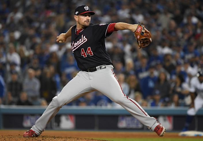 Daniel Hudson is one of the few members of the Nationals bullpen trusted by manager Dave Martinez. (Photo by Harry How/Getty Images)