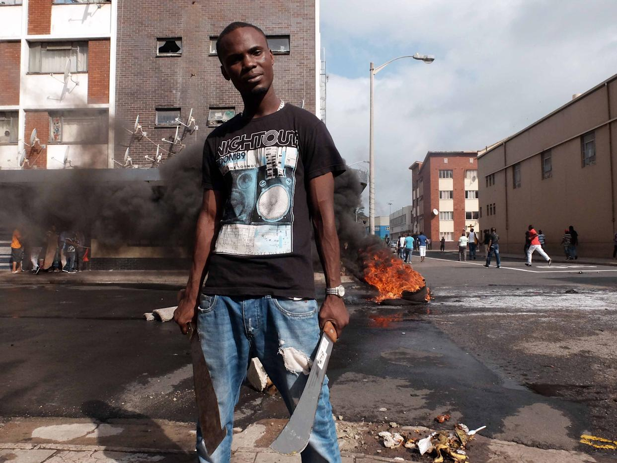 Xenophobic Attacks in Durban, South Africa