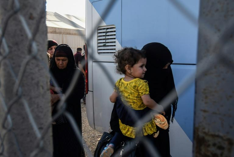 Many of the returnees say they fear retribution from their communities over alleged ties to the Islamic State group
