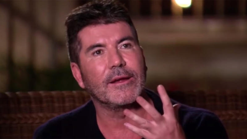 Simon cut a different figure on the same show last year. Photo: ITV