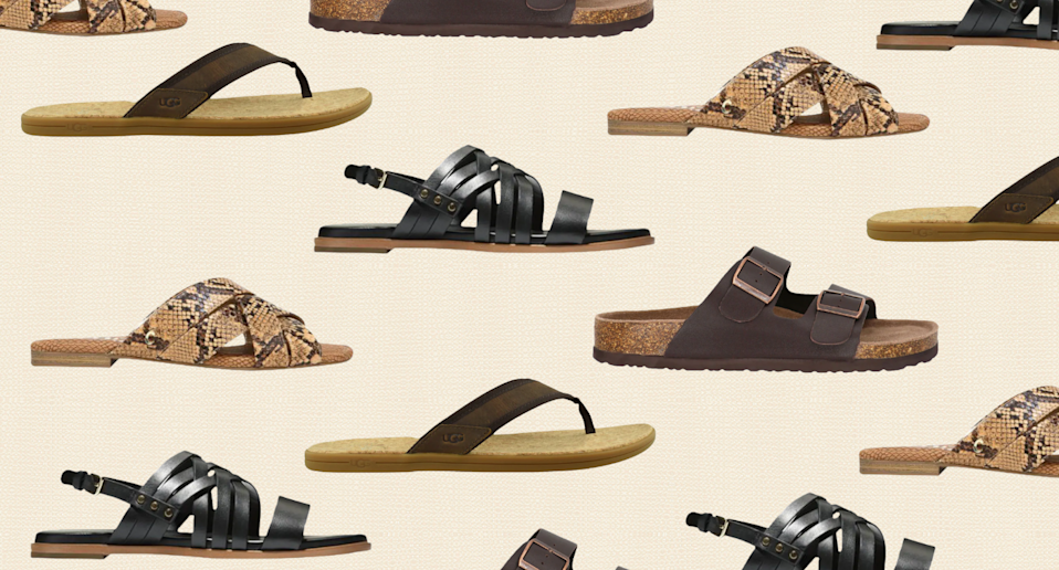 Save up to 70% off sandals for the whole family with DSW's mid-season sale (Photos via DSW)