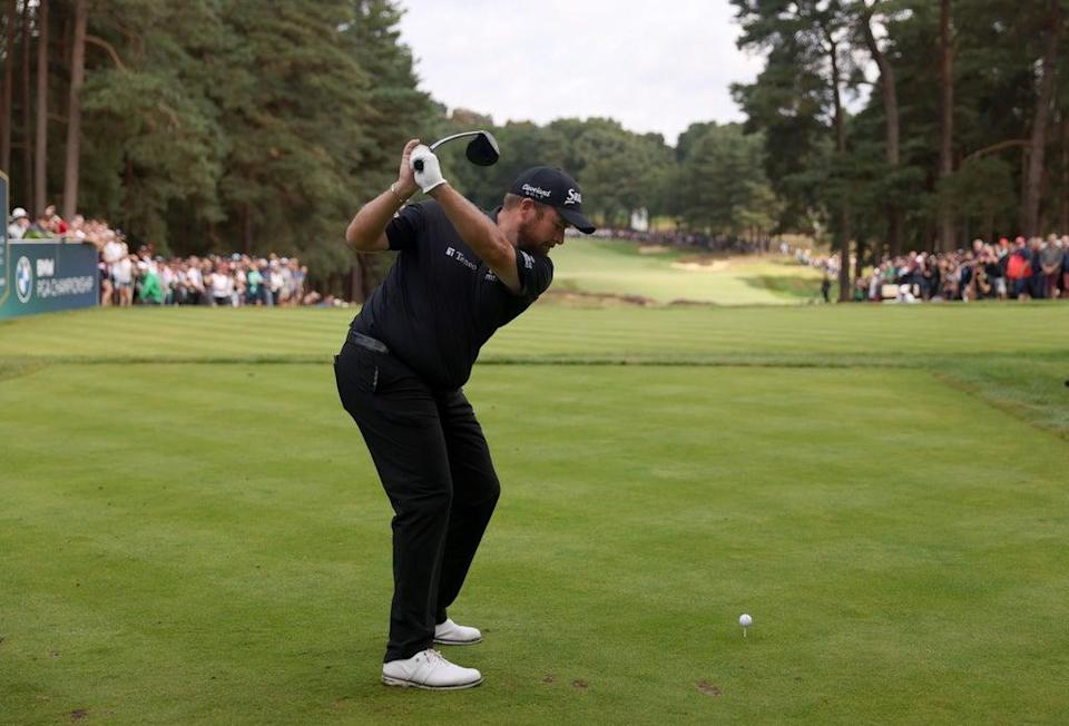 Ireland's Shane Lowry on the 11th tee during day two of the BMW PGA Championship at Wentworth (Steven Paston/PA) (PA Wire)