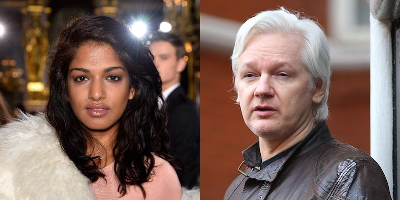 Following the news that the WikiLeaks founder is no longer under investigation for rape