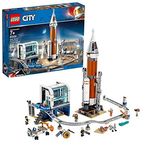 LEGO City Rocket and Launch Control 60228 NASA-Inspired Space Building Set