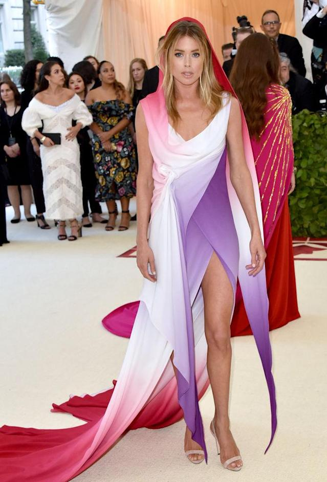 <p>Doutzen Kroes in Sies Marjan. (Photo: Getty Images) </p>