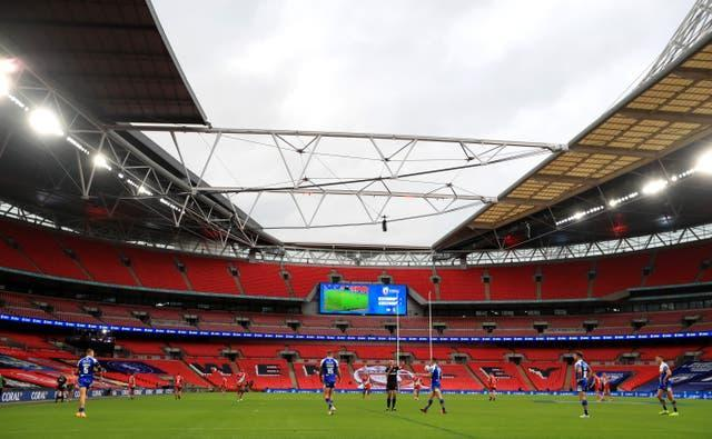 The Challenge Cup final took place behind closed doors last year