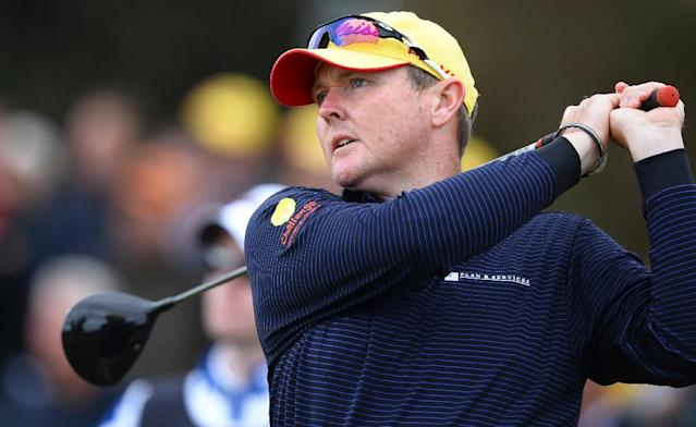 Australian golfer Jarrod Lyle passed away on Wednesday evening surrounded by family and friends (AFP Photo/William WEST)
