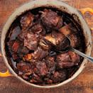"Serve this cozy dish in shallow bowls over mashed potatoes with sauce spooned over. <a href=""https://www.epicurious.com/recipes/food/views/red-wine-braised-shortribs-367736?mbid=synd_yahoo_rss"" rel=""nofollow noopener"" target=""_blank"" data-ylk=""slk:See recipe."" class=""link rapid-noclick-resp"">See recipe.</a>"