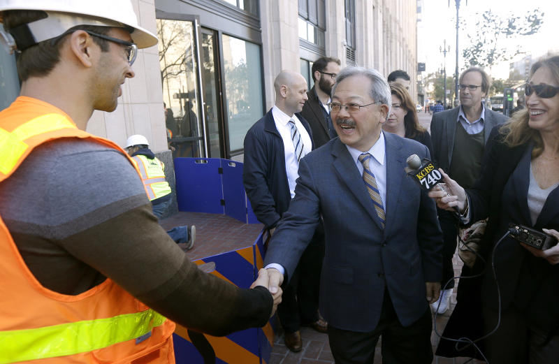 SF mayor touts tech revival of Mid-Market district