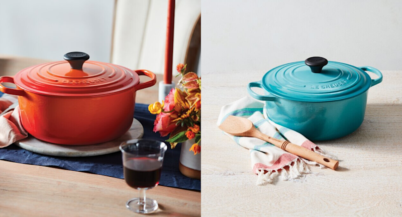 Le Creuset. Image via Wayfair.