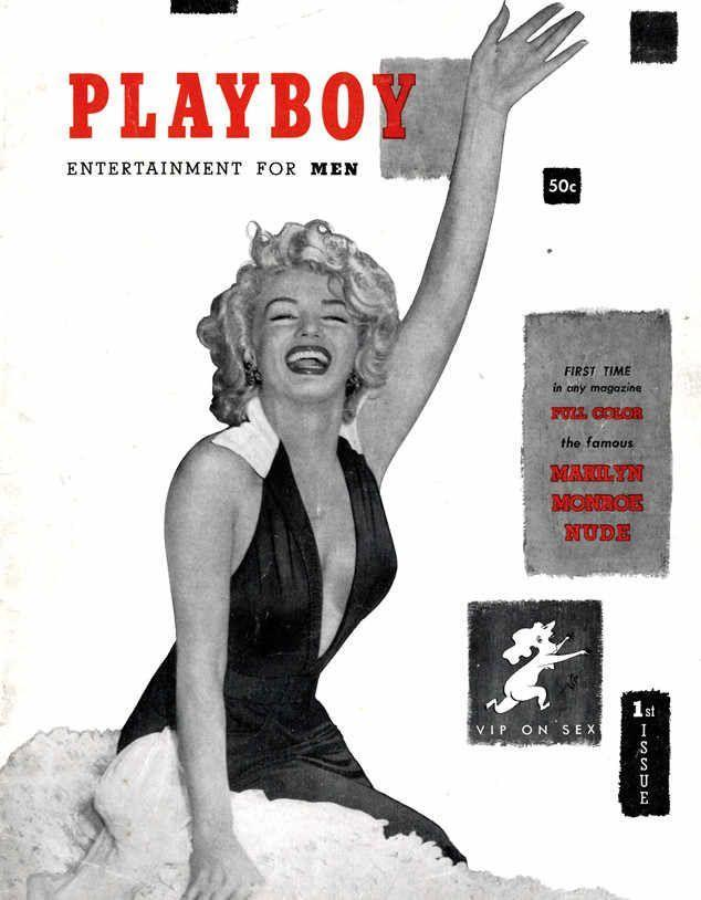 <p><strong>Issue: </strong>December 1953</p><p>Marilyn Monroe became the first-ever <em>Playboy</em> cover girl for the magazine's inaugural issue. </p>