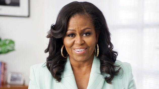 Michelle Obama, in March 2021 (Photo: 52nd NAACP Image Awards via via Getty Images)