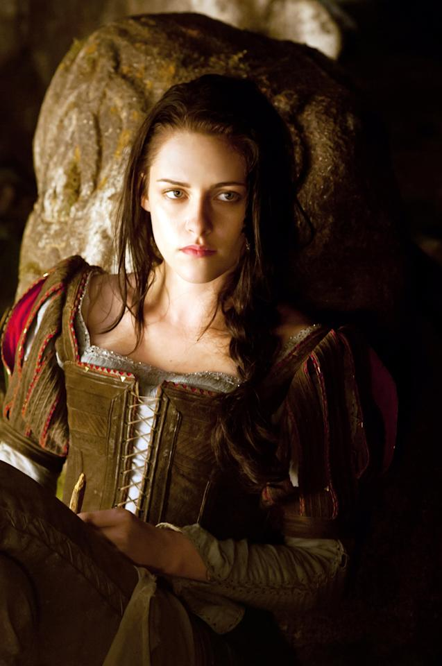 SNOW WHITE AND THE HUNTSMAN, Kristen Stewart, as Snow White, 2012.