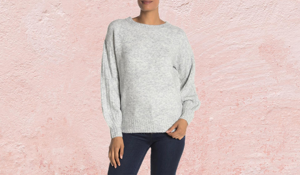 This versatile sweater is perfect for layering. (Photo: Nordstrom Rack)