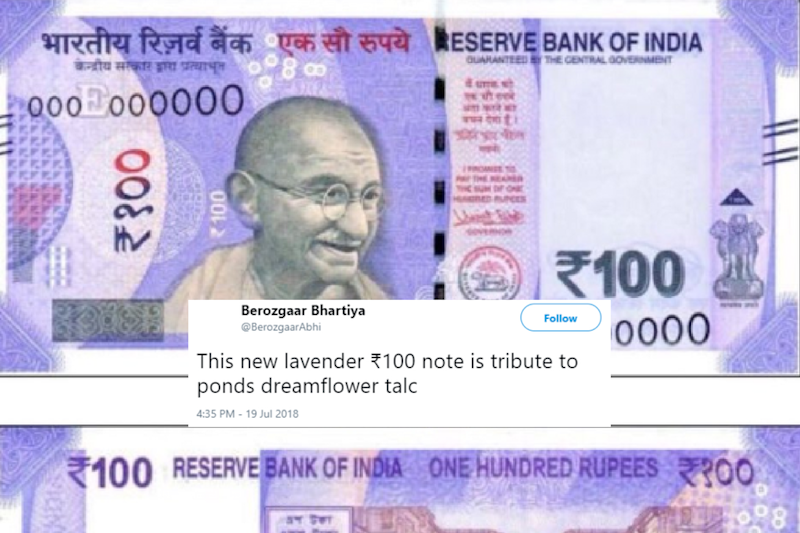 'Monopoly Cash is Complete': New Lavender 100 Rupee Note Has Left Twitter Colourful