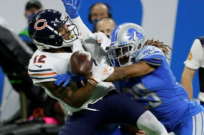 Robinson expects to stay with Bears for rest of season