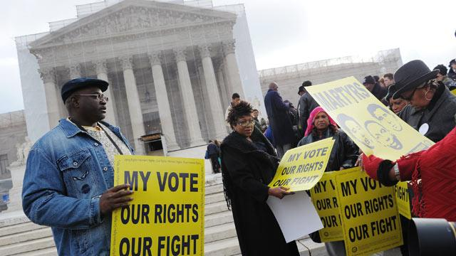 Supreme Court Seems Poised to Rule Against Key Provision of Voting Rights Act