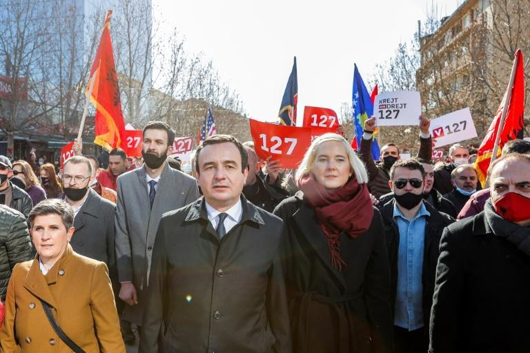 Vetevendosje (Self-determination), led by 45-year-old Albin Kurti, has finished first in the last two parliamentary polls