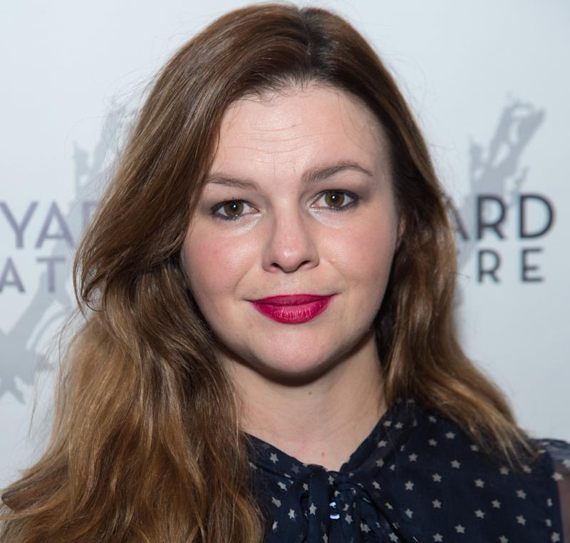 Actress Amber Tamblyn attends 'Can You Forgive Her?' Opening Night at the Vineyard Theatre on May 21, 2017 in New York City.