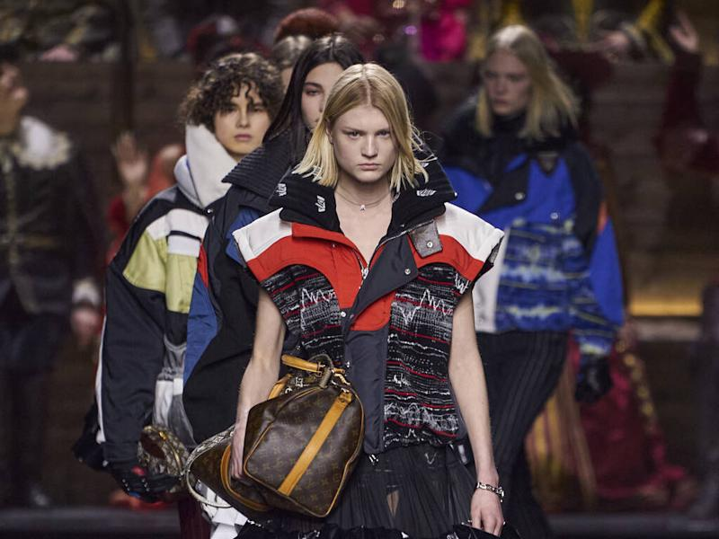 Louis Vuitton contemplates time travel with fall 20 show