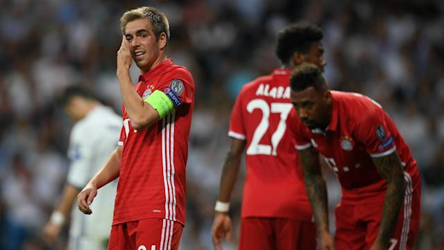 Philipp Lahm has posted an Instagram message following a disappointing end to his Champions League career.