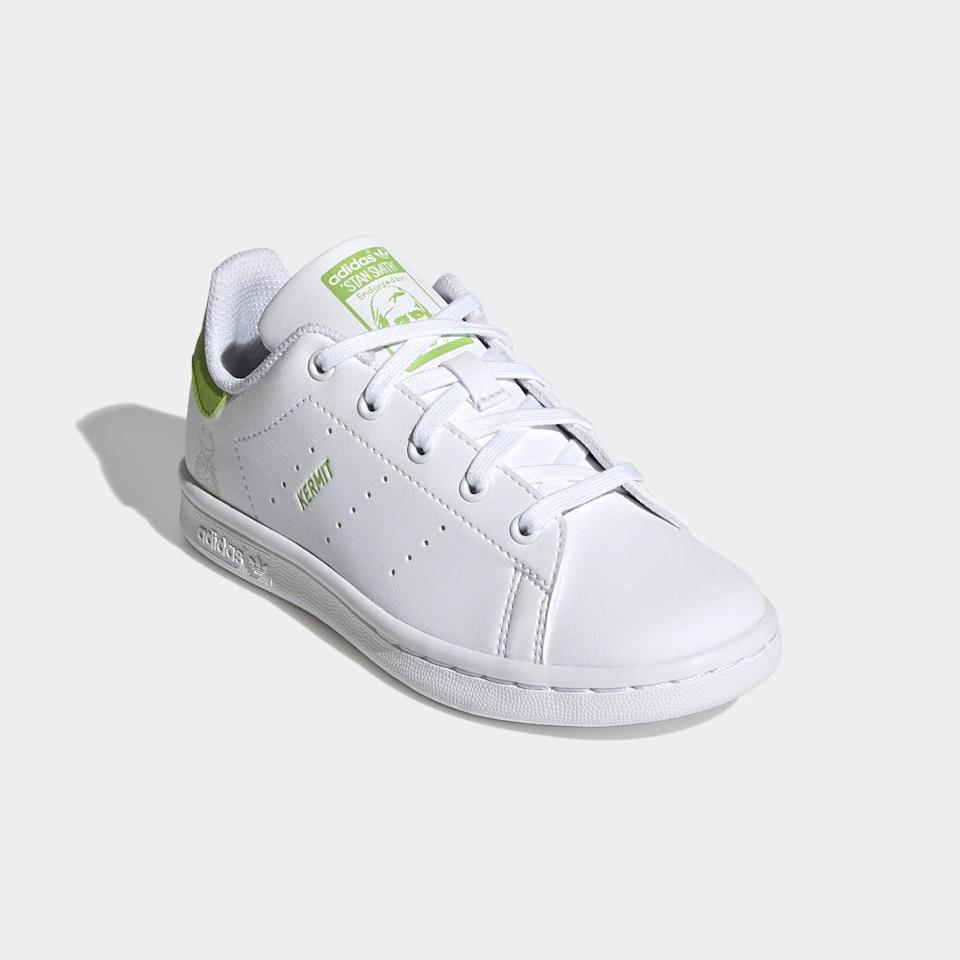 <p><span>Adidas Stan Smith Kermit the Frog Shoes For Little Kids</span> ($60)</p>