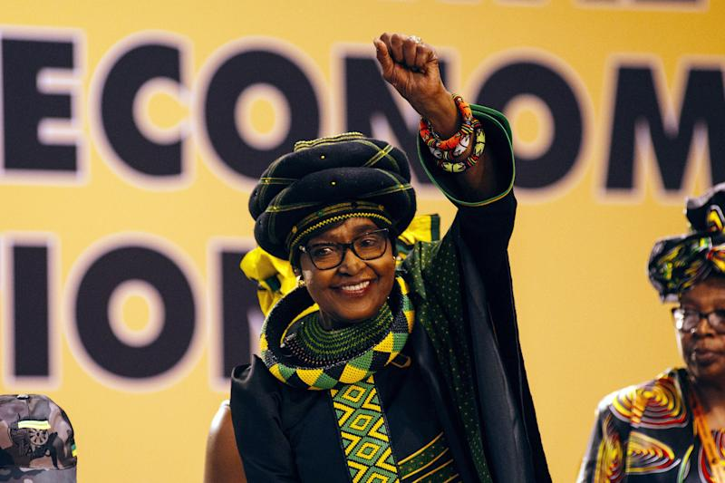 Winnie Madikizela-Mandela, a leading anti-apartheid figure and the wife of the late South African leader Nelson Mandela, died on April 2, 2018 at 81.