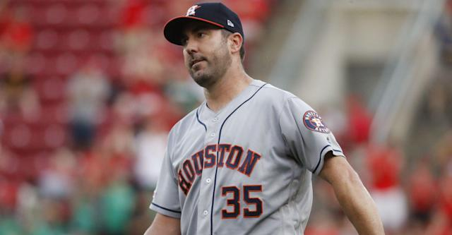 Verlander, Astros come up short to Reds