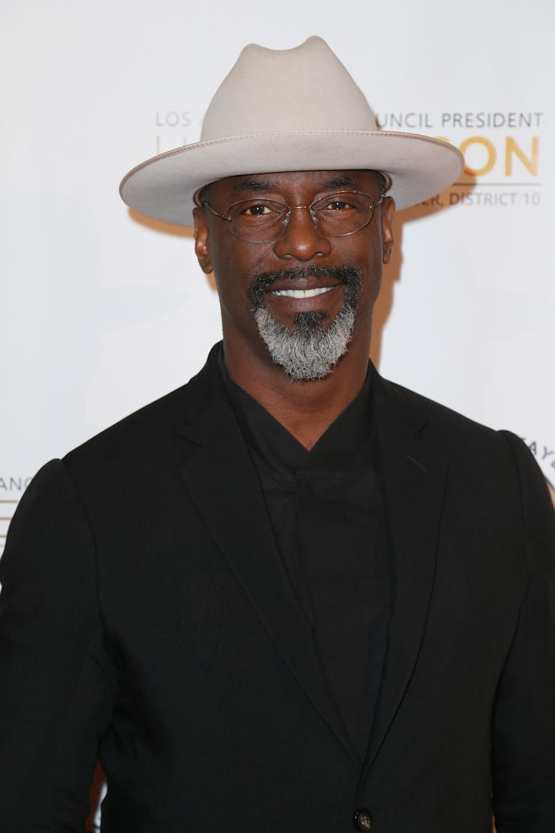 Actor Isaiah Washington visited the Trump White House this week. (Photo: Leon Bennett/Getty Images)