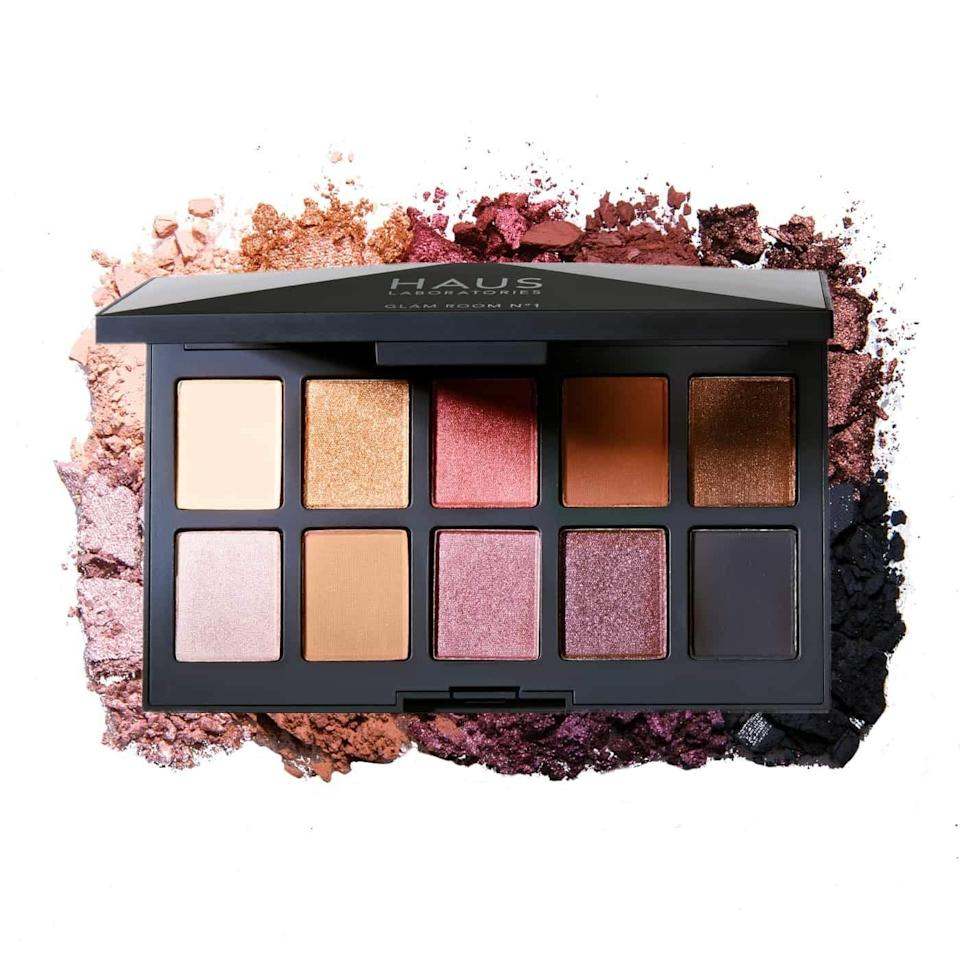 <p>The <span>Haus Laboratories Glam Room Palette No. 1: Fame</span> ($17, originally $34) has a stunning selection of mattes, metallics and shimmer shades to create glamorous holiday looks. The shades are pigmented yet blendable and buildable. </p>