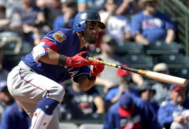<p>The first time the Texas Rangers come to town we could see Rougned Odor and Jose Bautista renew hostilities. (AP) </p>