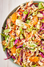 """<p>Ramen adds serious crunch factor.</p><p>Get the recipe from <a href=""""https://www.delish.com/cooking/recipe-ideas/recipes/a53792/chinese-chicken-salad-recipe/"""" rel=""""nofollow noopener"""" target=""""_blank"""" data-ylk=""""slk:Delish"""" class=""""link rapid-noclick-resp"""">Delish</a>.</p>"""