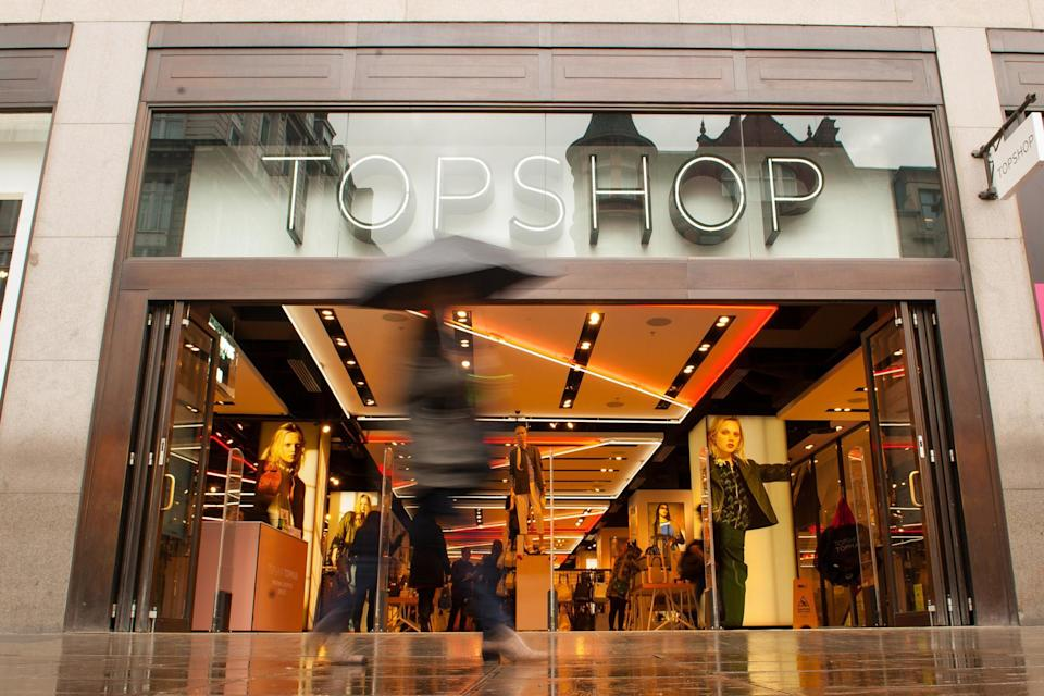 <p>Arcadia Group is behind fashion chains such as Topshop</p> (PA Archive/PA Images)