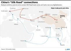 China's Xi decries protectionism, touts Silk Road
