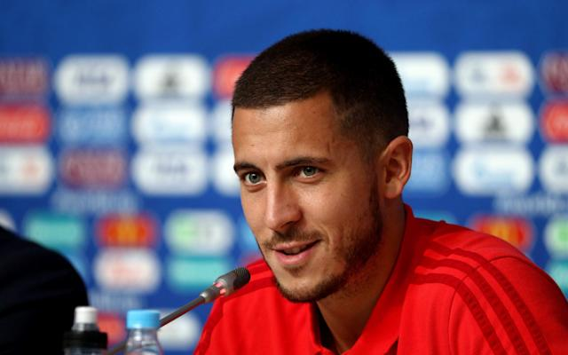 "Eden Hazard has issued a come and get me plea to Real Madrid by confirming that the time might be right for him to leave Chelsea once he returns from the World Cup. Chelsea are desperate to keep Hazard, who has two years remaining on his contract, but the Belgian is a target of both Real and Barcelona. After scoring against England to secure third place for Belgium at the World Cup, Hazard, who Chelsea value at over £200 million, was asked about his future. ""I will go on holiday and ask myself the right questions,"" said Hazard. ""After six wonderful years at Chelsea, it might be time to discover something different. I can decide if I want to stay or go, but Chelsea will make the final decision - if they want to let me go. ""For my career, certainly after this World Cup, I'm at a moment where I might change."" Hazard has spent six years at Chelsea, and has two years left on his contract Credit: Getty Images Hazard, who has never tried to hide his desire to play for Real one day, added: ""We all know that I've always felt well at Chelsea, and I've been linked to all the big clubs. Next week it will be Bayern (Munich). No I'm joking. You all know my preferred destination."" Confirmation that Hazard may want to leave is a big blow to new head coach Maurizio Sarri and the 27-year-old said: ""We knew for a while that Sarri was going to become the new manager. Now it's official. If he's a good manager? If he lets me win trophies, yes. Dries Mertens has said its a good manager. We will have to work hard. The Italian way, but we were used to that with Antonio Conte too. We will see what happens."" Meanwhile, Sarri assured Chelsea he does not hold any homophobic or sexist views ahead of his appointment. And the Italian has also been enrolled straight on to an intensive course to improve his English, following his move to Stamford Bridge. Chelsea formally announced the appointment of Sarri, on a three-year contract, and the signing of midfielder Jorginho, on a five-year deal, on Saturday. England vs Belgium, player ratings The news was met positively by Chelsea supporters, despite some concerns over Sarri's past misdemeanors. In 2016, while in charge of Napoli, he was accused of calling then Inter Milan manager Roberto Mancini a ""poof"" and a ""faggott"", and was subsequently given a two-game ban and had to pay a 20,000 euro fine. At the time, Sarri said: ""I was just irritable...I was not discriminating against anyone. If I did indeed use those words, then I apologise to the gay community."" Sarri was forced to apologise again in March this year for responding to a female reporter's question by saying: ""You're a woman, you're beautiful, for those two reasons I won't tell you to go f*** yourself."" Telegraph Sport understands both incidents came up in negotiations between Sarri and Chelsea, and the 59-year-old was left in no doubt that any similar comments would be deemed completely unacceptable. Losing Hazard would be a blow for Chelsea's newly appointed manager, Maurizio Sarri Credit: Getty Images Sarri assured his new Blues bosses that both sets of comments did not represent his views and that they were ill-judged, and poorly worded. He also promised that they would not be repeated. In order to make sure he can communicate himself effectively at Chelsea, Sarri will immediately start taking English lessons at least once or twice a week while he prepares for the new season. Sarri is said to have a basic level of English he can already speak, due in part to the time he spent in the country in his previous career as a banker, but he is keen to improve it as quickly as possible. His cigarette habit is another issue that he will have to address, as smoking is banned inside English football stadiums. One player who will have no problem understanding Sarri is Jorginho, who turned down a move to Premier League champions Manchester City, to join Chelsea. Sarri and Jorginho worked together at Napoli, and the 26-year-old said: ""I am absolutely ecstatic to be here at Chelsea. It is not easy to become part of such a big team so I am very, very happy. I am excited to play in such an intense league for a team that gives everything to play and win."""