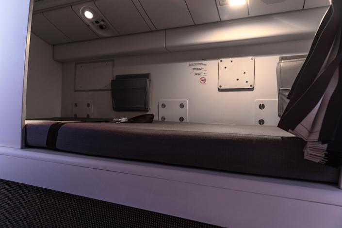 This is a Crew Rest Compartments on a Boeing 777. [Photo: Getty]