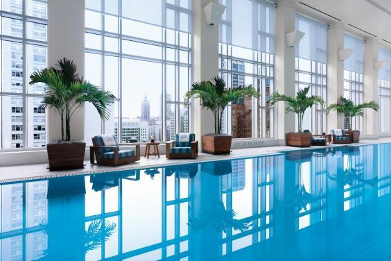 Enjoy a dip in The Pensinula's indoor 25m pool (The Peninsula)