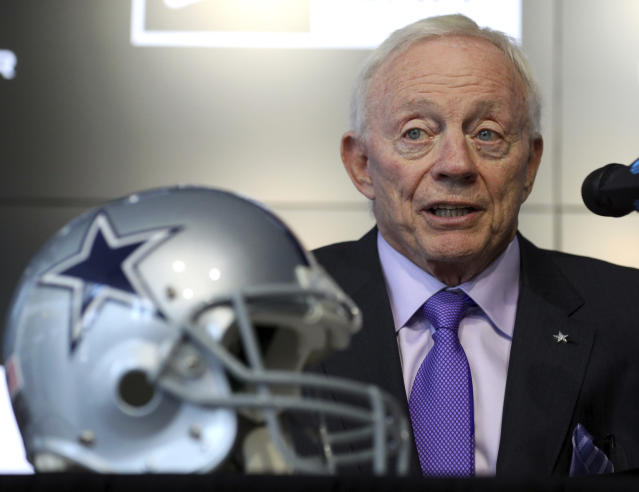 Dallas Cowboys owner Jerry Jones can't afford another cycle of missed opportunity. (AP)