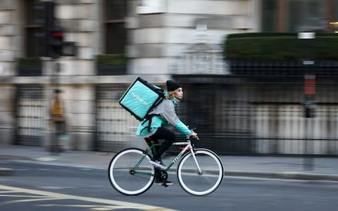 Deliveroo - Credit: Bloomberg