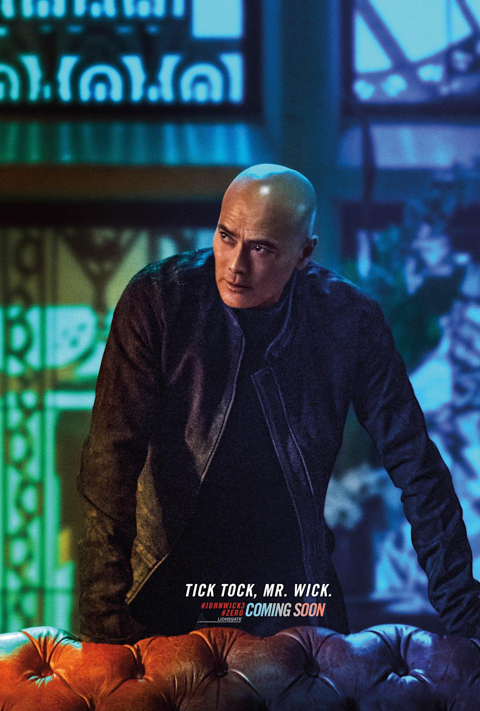 <p>According to Dacascos, Zero is a John Wick fanboy, which will make for an interesting dynamic – especially as Zero is Wick's main adversary. One thing's for sure, the fight scenes will be spectacular, Dacascos is a martial arts expert. </p>