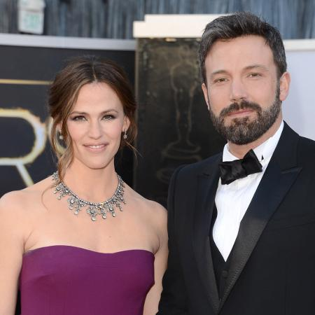 Ben Affleck and Jennifer Garner baptise son