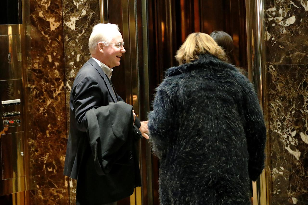 Representative Tom Price (R-GA), President-elect Donald Trump's nominee to be secretary of health and human services, arrives at Trump Tower in New York, U.S., December 10, 2016. REUTERS/Mark Kauzlarich
