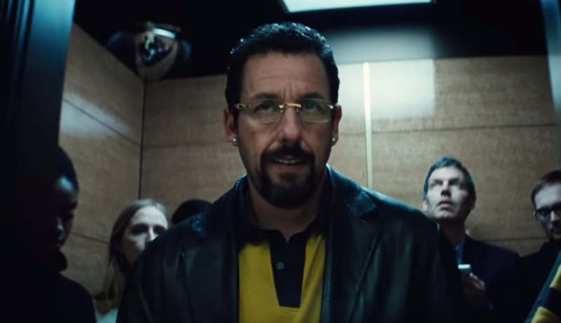 Adam Sandler in 'Uncut Gems' (A24/YouTube)