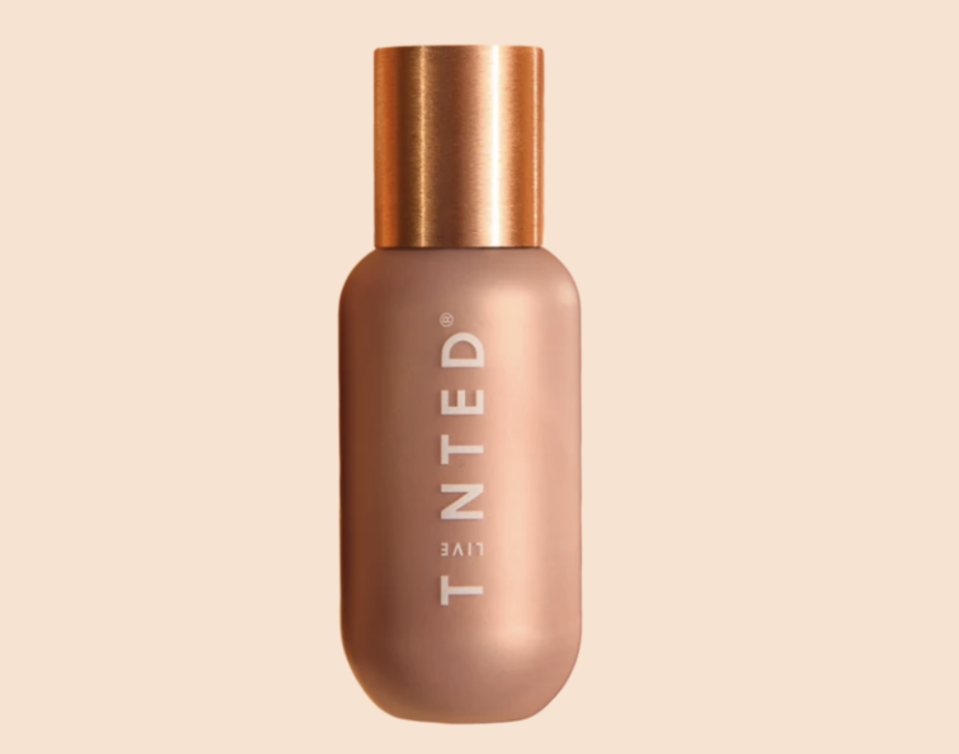 """<p><strong>Live Tinted</strong></p><p><strong>$34.00</strong></p><p><a href=""""https://www.livetinted.com/products/hueglow-dawn"""" rel=""""nofollow noopener"""" target=""""_blank"""" data-ylk=""""slk:Shop Now"""" class=""""link rapid-noclick-resp"""">Shop Now</a></p><p>A serum too, this squalane-enriched liquid can be used on just your cheeks, or all over for a luminous finish.</p>"""