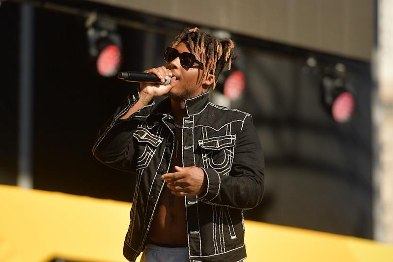 Juice WRLD performs onstage during the Daytime Stage at the 2019 iHeartRadio Music Festival held at the Las Vegas Festival Grounds on Sept. 21, 2019. (Matt Winkelmeyer via Getty Images)